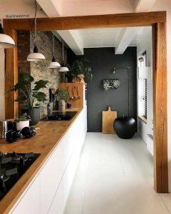 keuken sfeervol maken door het binnenbrengen van de natuur